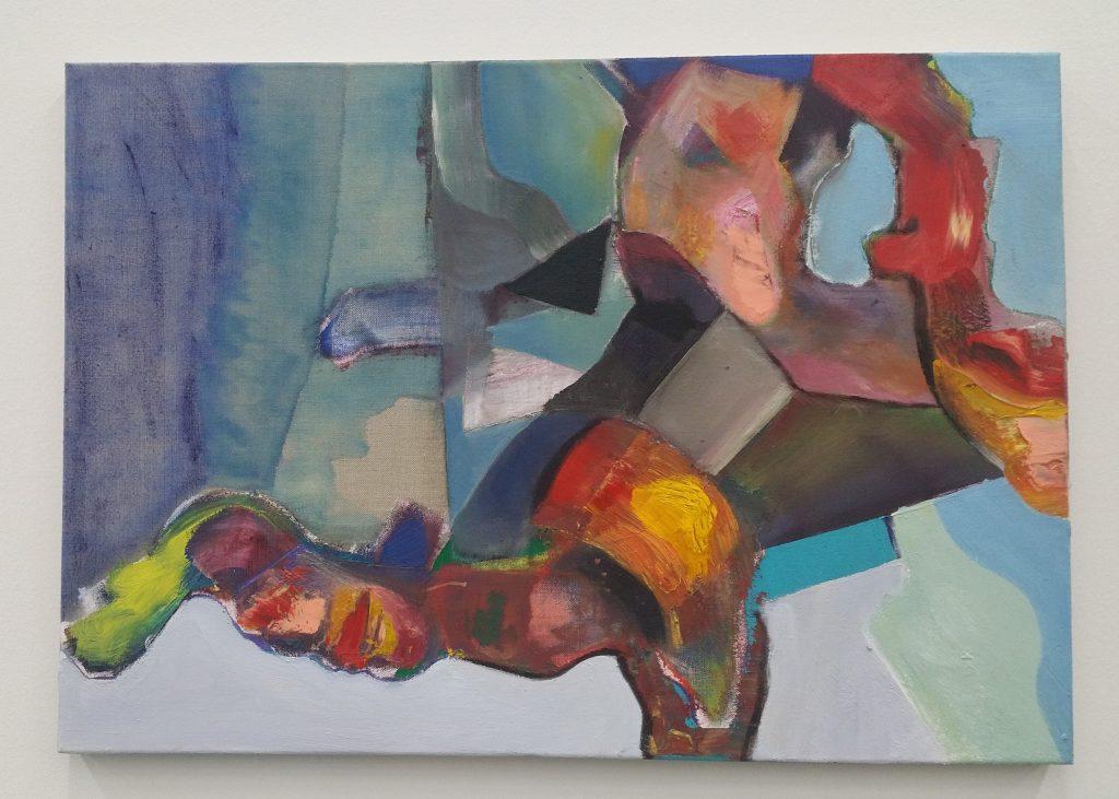 Gemälde von Alexander Iskin - Tripping - Öl auf Leinwand-2017